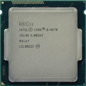 Bán CPU Intel Core i5 4670 (3.80GHz, 6M, 4 Cores 4 Threads) TRAY chưa gồm Fan giá rẻ tại Hcm