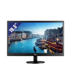 """Bán Màn Hình AOC 19.5"""" E2070SWN (1600x900/TN/60Hz/5ms) giá rẻ tại Hcm"""
